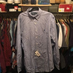 NWT Polo Ralph Lauren oxford button up